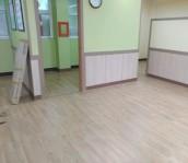 인천 초등학교 보건실 전기온돌판넬시공