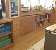 초등학교 돌봄교실 시공 작업